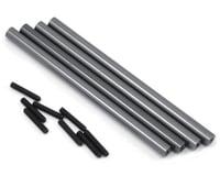 ST Racing Concepts SCX10 Aluminum Lower Suspension Link Set (4) (Gun Metal)