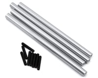 Image 1 for ST Racing Concepts SCX10 Aluminum Lower Suspension Link Set (4) (Silver)