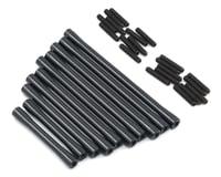 ST Racing Concepts SCX10 II RTR HD Suspension/Steering Link Set (10) (Black)
