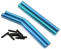 ST Racing Concepts Wraith Aluminum Upper & Lower Suspension Link Set (Blue)