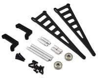 ST Racing Concepts DR10 Aluminum Wheelie Bar Kit (Black)