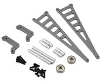 ST Racing Concepts DR10 Aluminum Wheelie Bar Kit (Gun Metal)