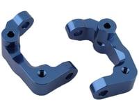 ST Racing Concepts DR10 Aluminum Caster Blocks (Blue) (2)