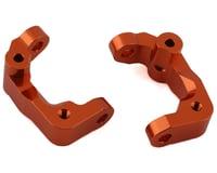 ST Racing Concepts Team Associated DR10 Aluminum Caster Blocks (Orange) (2)