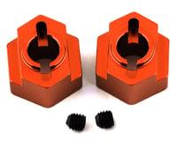 ST Racing Concepts DR10 Aluminum Rear Hex Adapters (2) (Orange)