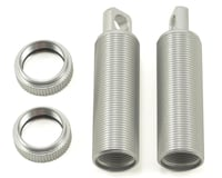 ST Racing Concepts Aluminum Threaded Front Shock Body & Collar Set (Silver) (2) (Losi XXX-SCT)