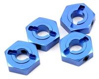 ST Racing Concepts Aluminum Hex Adapter Set (Blue) (4) (Losi TEN-SCTE 2.0)