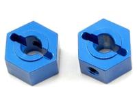 ST Racing Concepts Aluminum Rear Hex Adapter Set (Blue) (2)
