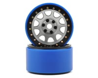 SSD RC 2.2 D Hole PL Beadlock Wheels (Silver) (2) (Pro-Line Tires)