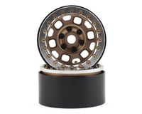 "SSD RC 1.9"" Contender Beadlock Wheels (Bronze) 