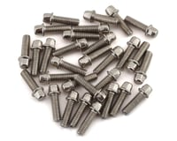 SSD RC 2.5x8mm Scale Wheel Bolts (Silver) (30) (Axial Wraith 1.9)