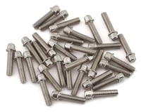 SSD RC 2.5x10mm Scale Wheel Bolts (Silver) (30) (Axial SCX10)