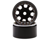 "SSD RC Warrior 1.9"" Beadlock Crawler Wheels (Black) (2)"