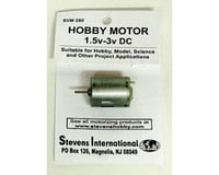 Stevens 1.5 to 3v DC Small Electric Motor (Round Can) (for