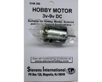 Stevens 3 to 9v DC Small Electric Motor (Round Can) (for h