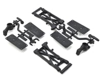 SWorkz S104 EVO Rear Lower Shorty Arm Set w/Hubs (for 12mm Hex)