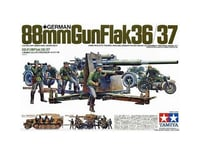 Tamiya 1/35 German 88mm Gun Flak Model 36.37 Kit TAM35017