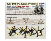 Tamiya 1/35 Scale Barricade Set Kit Model TAM35027