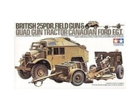 Tamiya 1/35 British 25-Pdr Field Gun & Quad Gun Tractor V | relatedproducts