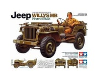 1/35 Jeep Willys MB 1/4Ton, plastic model kit