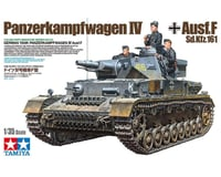 Tamiya 1/35 German Tank Panzerkampfwagen IV Ausf.F Model Kit