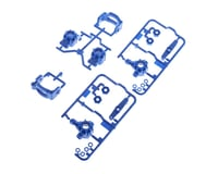 Tamiya TT-02B B Parts Upright Set (Blue)