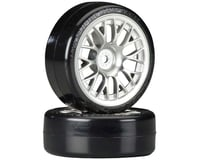Tamiya 1/10 SD Drift Tech Tires w/ Mesh Wheels (24mm)