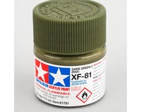 Tamiya XF-81 Acrylic Mini (Dark Green) (10ml)