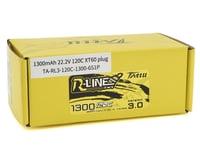 "Image 2 for Tattu ""R-Line 3.0"" 6S LiPo battery 120C (22.2V/1300mAh)"