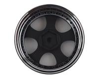 Image 2 for Team DC VS KF Aluminum 1/10 Drift Wheel Set (Black/Silver) (4) (+3/+6/+9 Offset)