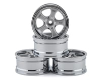 Team DC VS KF Aluminum 1/10 Drift Wheel Set (Silver) (4) (+3/+6/+9 Offset)