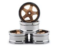 Team DC DC-GF 1/10 Drift Wheel Set (Gold) (4) (+6/+9 Offset)