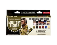Testors Model Master 6 Color Paint Set, Military Figure