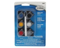 Testors Primary Color Acrylic Paint Pots (6) (1/10oz) | relatedproducts