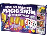 Thames & Kosmos World's Greatest Magic Show with 415 Tricks Magic Set
