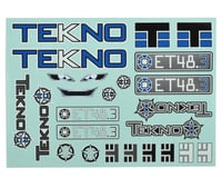 Tekno RC ET48.3 Decal Sheet