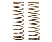 Tekno RC Low Frequency 75mm Front Shock Spring Set (Black - 3.58lb/in)