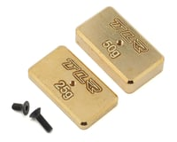 Team Losi Racing 22 4.0 Rear Brass Plate Set | alsopurchased