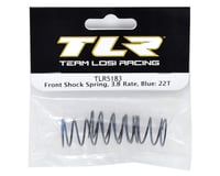 Image 2 for Team Losi Racing Front Shock Spring Set (Blue - 3.8 Rate) (2)
