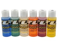Team Losi 8IGHT-T 4.0 Racing Silicone Shock Oil Six Pack (20, 25, 30, 35, 40, 45wt) (2oz)