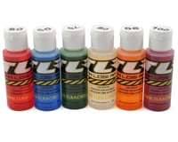 Team Losi Racing Silicone Shock Oil Six Pack (50, 60, 70, 80, 90, 100wt) (2oz)
