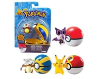 Tomy Pokemon Clip 'N' Carry Pokeball with Figure (May Differ from Picture)