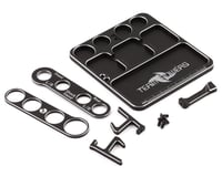Team Powers Aluminum Parts Tray V3 w/Holder