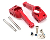 Traxxas Nitro Sport Aluminum Rear Stub Axle Carriers (Red) (2)