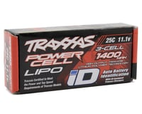 """Image 2 for Traxxas 3S """"Power Cell"""" 25C LiPo Battery w/iD Traxxas Connector (11.1V/1400mAh)"""
