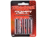 Traxxas Power Cell AA Alkaline Batteries (4)