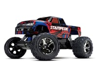 Image 1 for Traxxas Stampede VXL Brushless 1/10 RTR 2WD Monster Truck (Red)