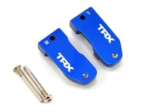 Traxxas Nitro Slash Aluminim 30° Caster Blocks (Blue) (2)