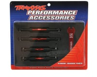 Image 2 for Traxxas Aluminum Turnbuckle Camber Link Set (Red) (4)