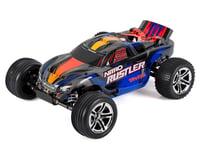 Traxxas Nitro Rustler 1/10 RTR Stadium Truck (Silver/Blue) | relatedproducts